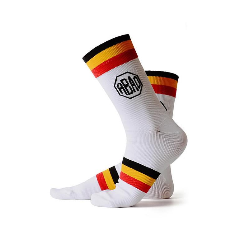 5 paia resistente all'usura assorbire l'umidità della bicicletta Calze sport esterni di corsa Cycling Socks per le donne Bambino Uomo Size 29-45