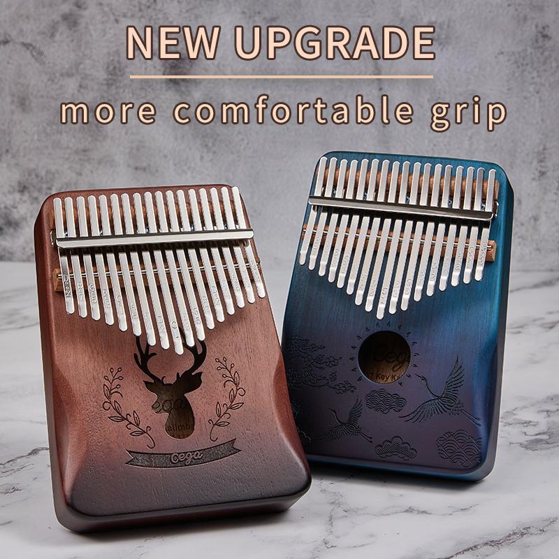Kalimba 17 Key Maun Vücut Dik Piyano 17 Llaves MBIRA Enstrüman En İyi Kalite ve Price