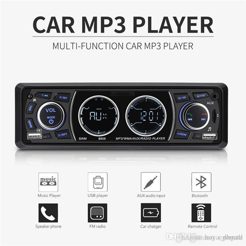 Epse Wireless Bluetooth FM Radio Adapter Music Player Car Kit with Hands Free Calling and 2 USB Ports Charger Support USB Flash Drive Bluetooth FM Transmitter for Car