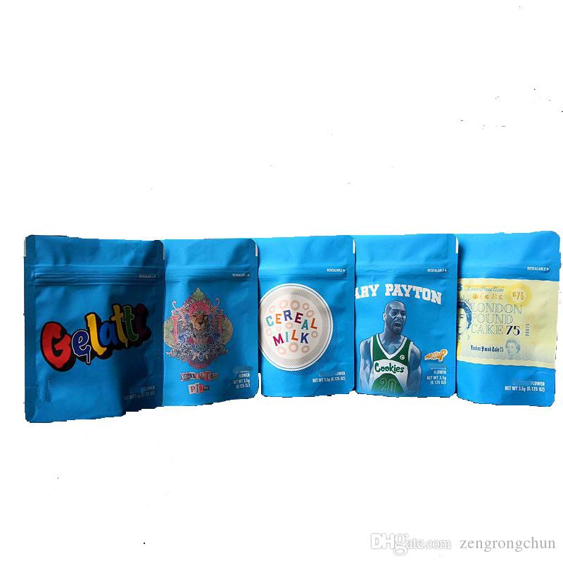 Печенье Калифорния СФ 8-го 3.5 г лавсановой восковыми мешки 420 упаковка Gelatti хлопьев с молоком Гэри Пэйтон печенье мешок размер 3.5 г-1/8 сумки