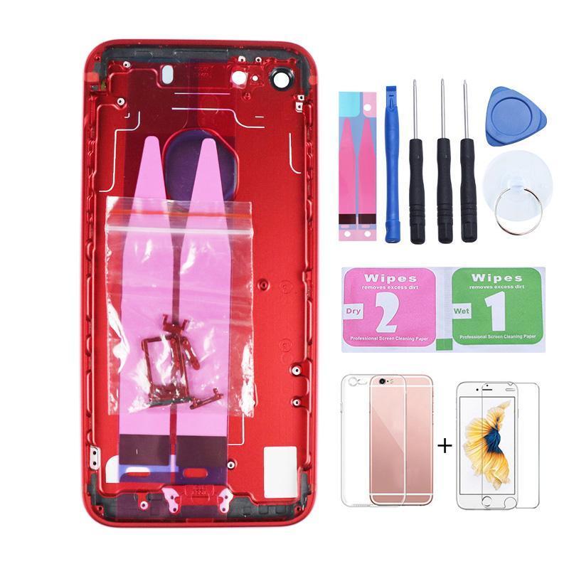 iPhone Para New Voltar Habitação 7 bateria tampa traseira Porta Habitação Caso Oriente Chassis 7g reposição para o iPhone 6 Voltar Housing