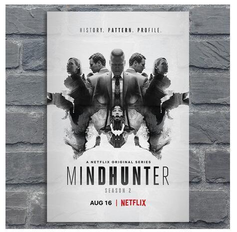 Mindhunter Saison 2 TV Film Art Tissu en soie d'affiche de mur d'image Chambre Home Decor 56