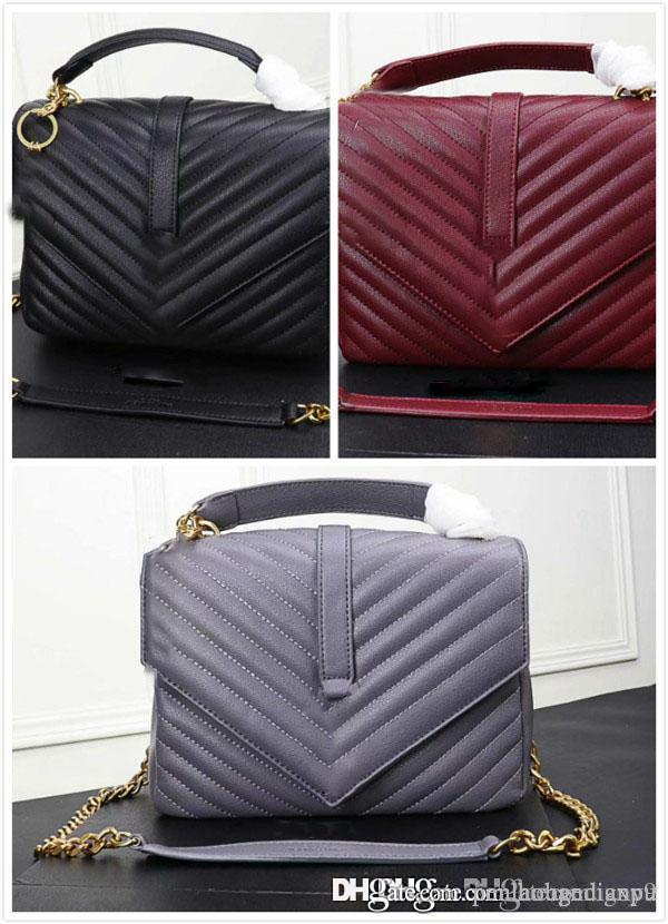 1110 2019 marka moda lüks tasarımcı çanta yük ücretsiz yüksek kaliteli deri tek omuz çantası, bayan eğik çanta,