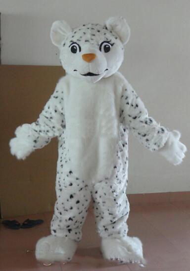 2020 Костюмы Halloween Snow Leopard костюм талисмана верхнего качества мультфильм животных Аниме тема характер Рождественский карнавал партии