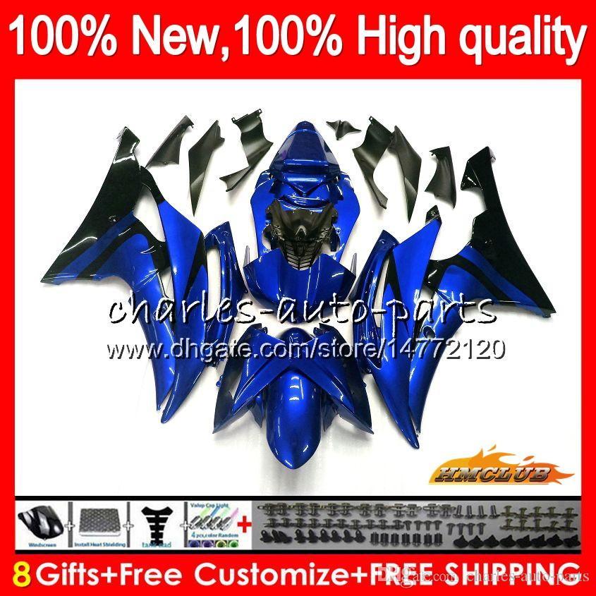 Körper für YAMAHA YZF600 YZF600 YZFR6 08 09 10 11 12 68HC.0 YZF 600 R 6 CC 600cc YZFR6 YZF R6 2008 2009 2010 2011 2012 Verkleidungs-Metall blau