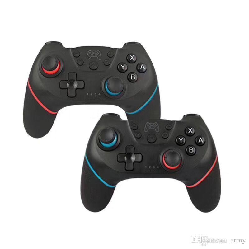 Anahtarı Pro Gamepad Joypad Joystick için Nintendo için Oyun Kontrolörleri Bluetooth Uzaktan Kablosuz Controller Pro Konsolu Anahtar