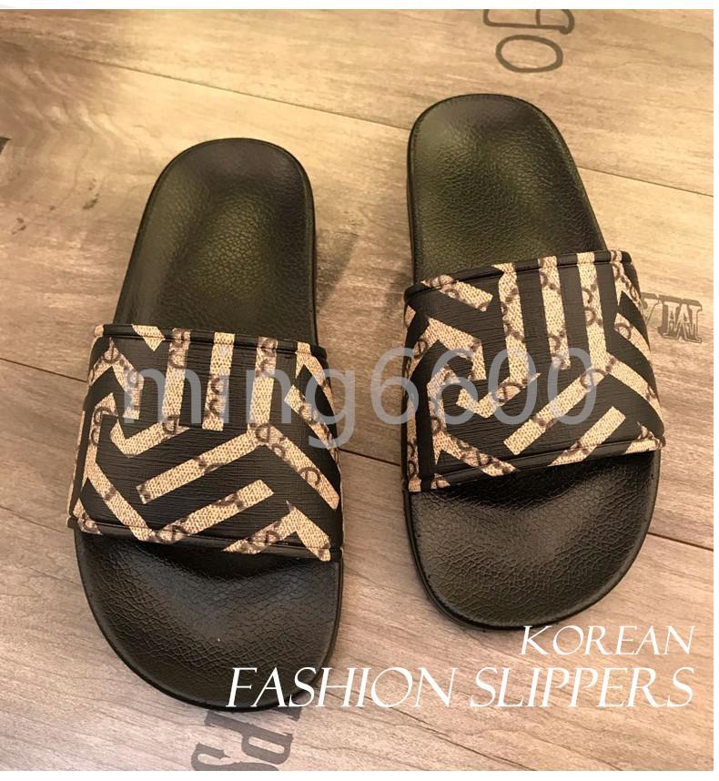 B2 11quality Italie Femmes Hommes Diapositives été de luxe de plage intérieur plat G Chaussures Marque Hommes Sandales SlippersLuxury pantoufles Designer