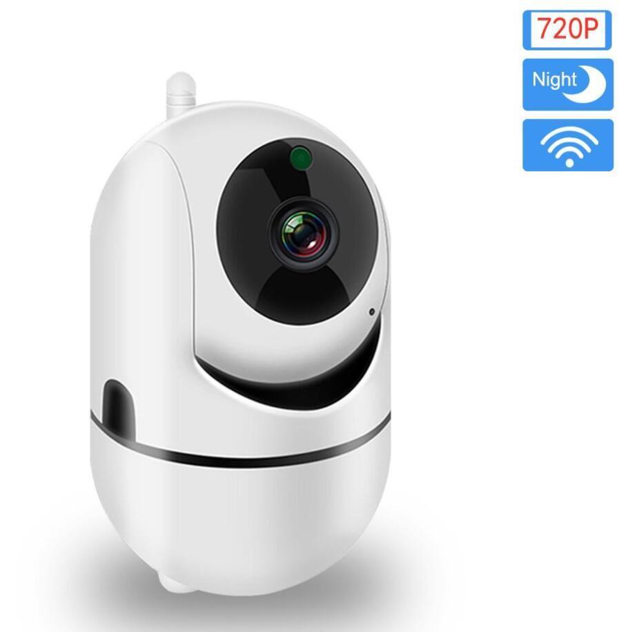Telecamera IP Camera NUOVO 720P Auto Tracking WiFi Baby Monitor Home Security IP Camera IR di visione notturna senza fili di sorveglianza a circuito chiuso