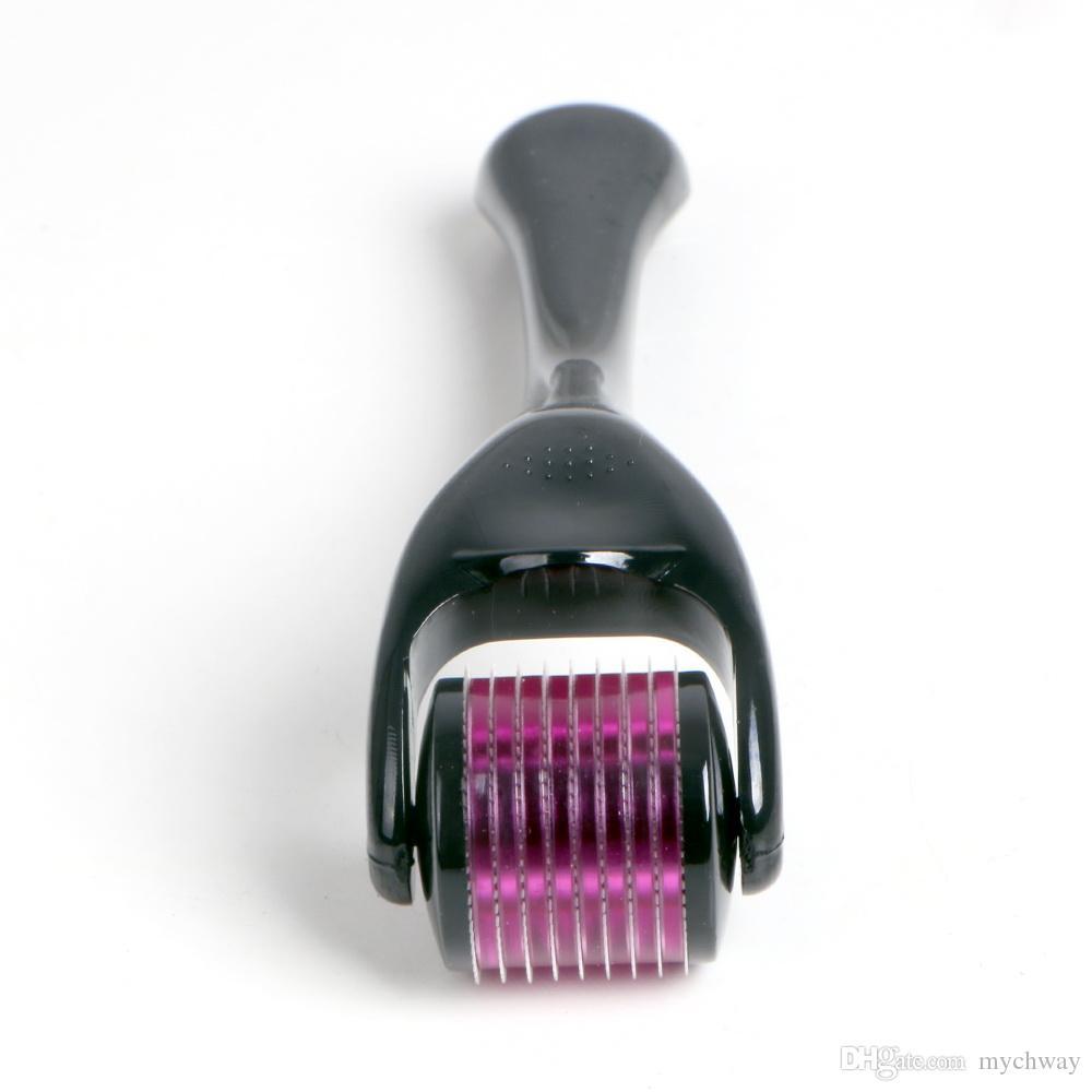 360 degree rotating Micro Derma Roller Skin Rejuvenation System Microneedles Roller Pen Skin Beauty Titanium Microroller Wrinkles Smooth