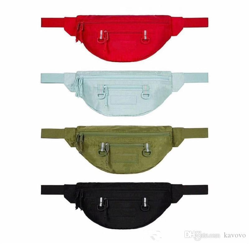 Reflective stripe Men women waist Bags fanny packs Hip Belt Bags Money Travelling Mountaineering Mobile Phone Bag Waist Packs
