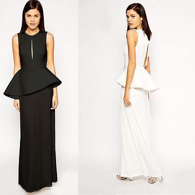 Frauen Lange reizvolle Abend-Partei-Ball-Abschlussball-Kleid-formales Maxi Kleid