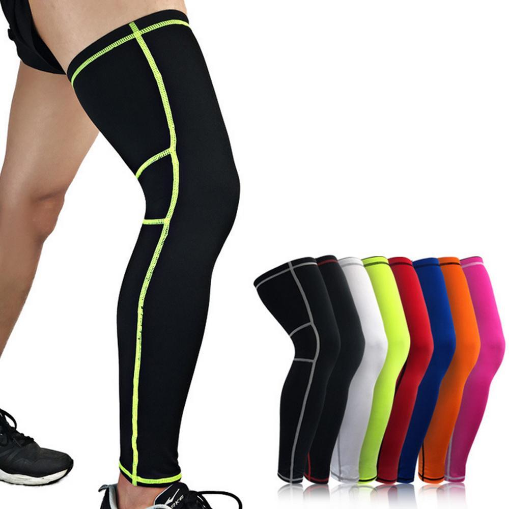 Men Women Legwarmers Compression Fitness Cycling Basketball Knee Calf Protector Sleeve Running Hiking Calf Leg Sleeve Breathable