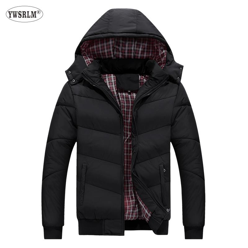 YWSRLM Sonbahar kış ceket erkekler Parkas erkek ceket camperas hombre invierno 2018 elbise casacos masculino Kalın ceket M-5XL