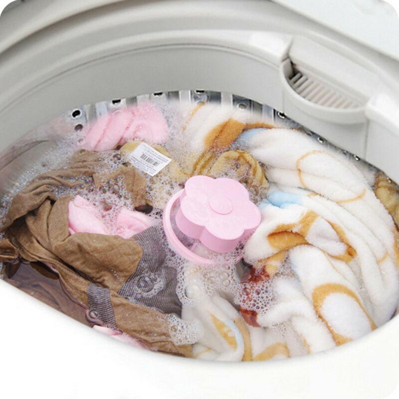 2PCS 헤어 보풀 보풀 잡아 세탁기 세탁 볼 리무버 필터 도구 물 필터 청소기