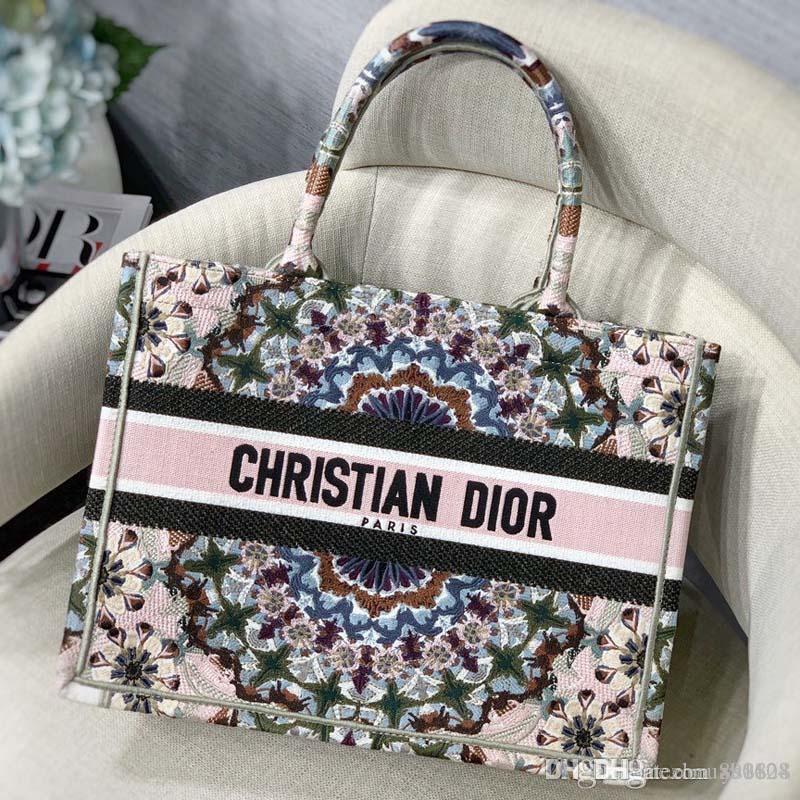 Nouveau mode luxe femme sac à main dames généreuses confortable et pratique la taille du sac en toile rétro fourre-tout 41,5 * 32cm