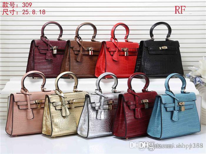 2019 NEUE Arten Handtasche berühmter Name Mode Lederhandtaschen-Frauen-Schulter-Beutel der Dame-Leather Handtaschen purs F8857
