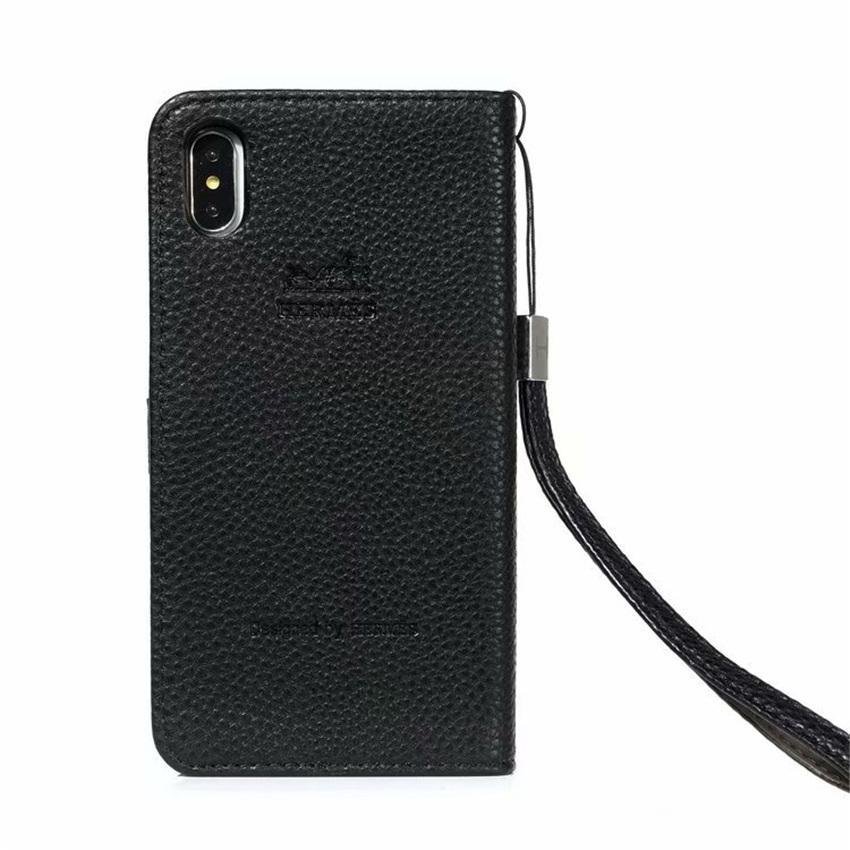Mode Flip Card Fente Support Housse en cuir pour iPhone X XR XS MAX 6 7 8 8Plus Téléphone Coque