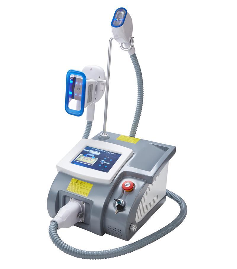 En Yeni Taşınabilir Cryolipolysis Yağ zayıflama makinesi Cryo Kriyoterapi Vücut Şekillendirme Zayıflama Yağ Temizleme Çift Çene Kolu Soğuk Donma