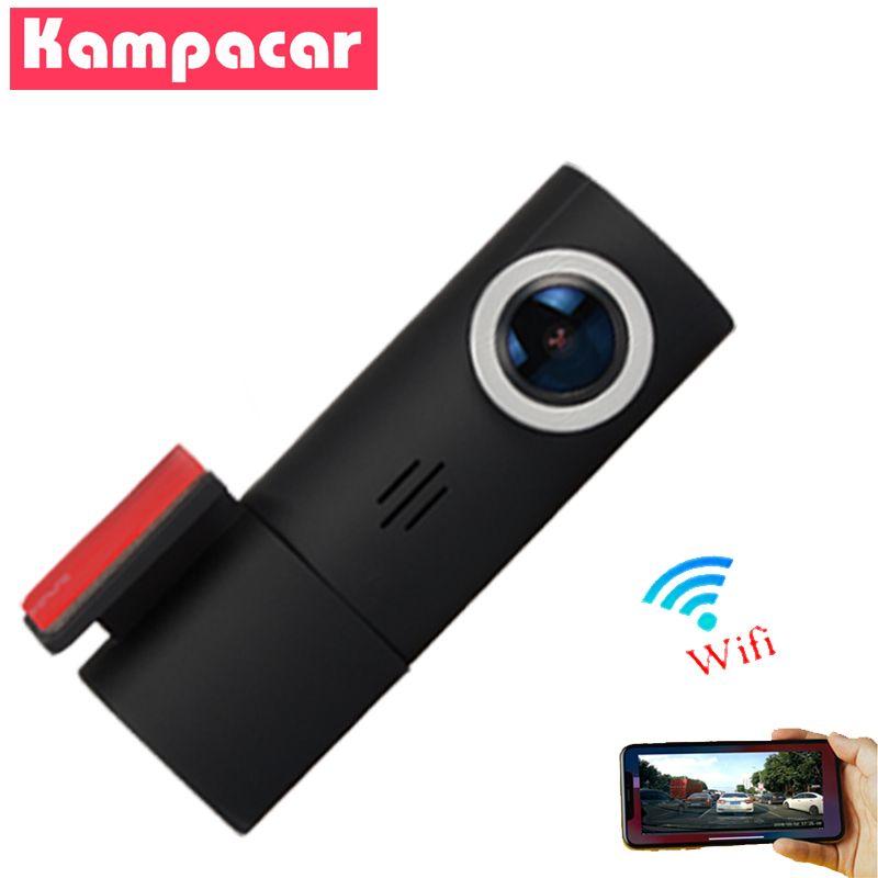 Kampacar Dash Camera Car Dvr Full HD 1080P Mini WiFi Dash Cam Rotate 96658 Sony IMX323 Car Wifi Dvrs Video Recorder
