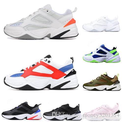 Avec Box 2019 New Monarch M2K Tekno A00354 Mode papa bonne chaussures pour hommes Designer Zapatillas Chaussures de course pour Classic Sneakers