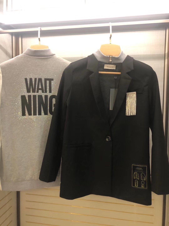 Otoño nuevas mujeres de alta calidad chaqueta informal chaqueta 2020 mejor ropa de moda * 487
