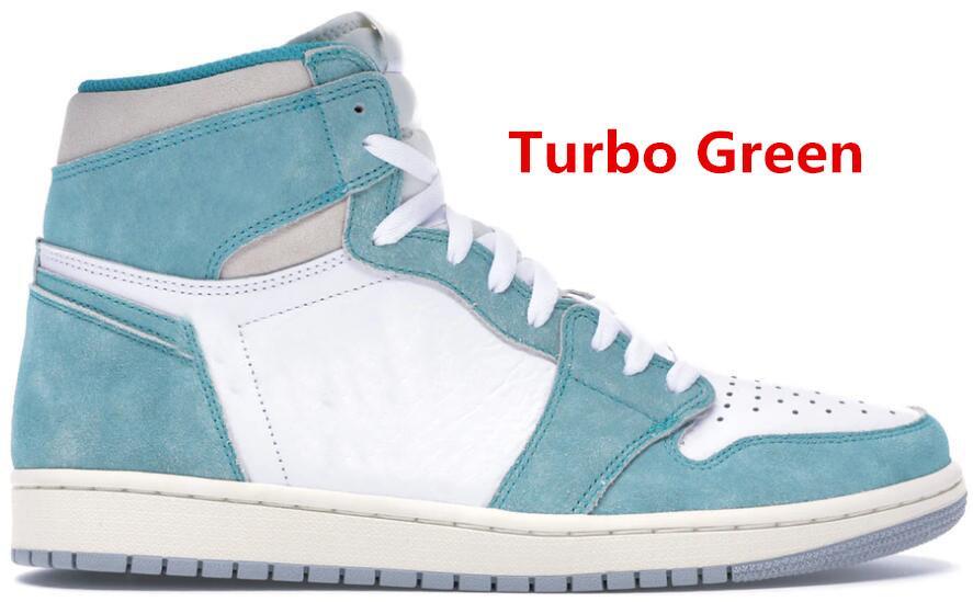 2019 1s мужская баскетбольная обувь самый популярный высокий Обсидиан UNC Новичок года Turbo зеленый черный тренажерный зал Красный дизайнерские тренеры