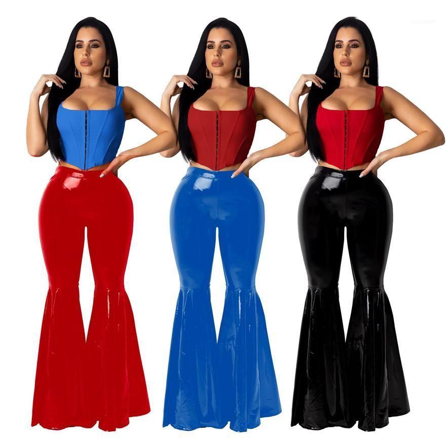Партия брюки Мода женщин Sexy Брюки Роскошные женские брюки конструктора Flare Скинни