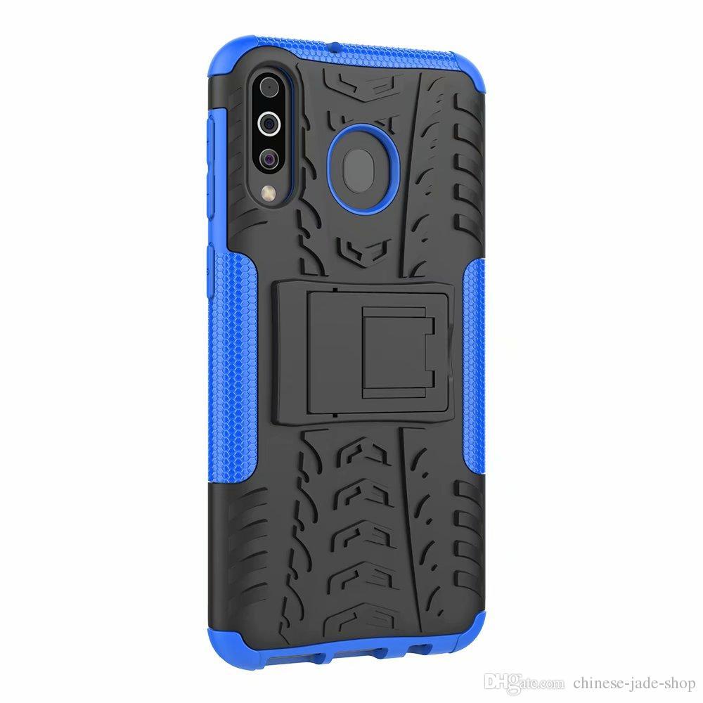 Hybrid KickStand Impact Rugged Heavy Duty TPU+PC Shock Proof case Cover FOR Samsung Galaxy M10 M20 M30 A20 A30 50 A40 A70 A2 CORE 160P