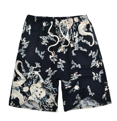 Summer Beach Pants Men Loose Shorts Men/'s Large Size Quick-Drying Surfing Shorts