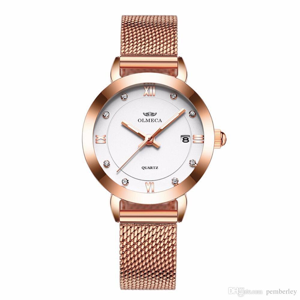 0865L 2019 Berühmte Luxusmodemarke Uhren Für Alle frauen Quarz-Watch Strap Business Armbanduhr Armbanduhren Weihnachtsgeschenk Relógio