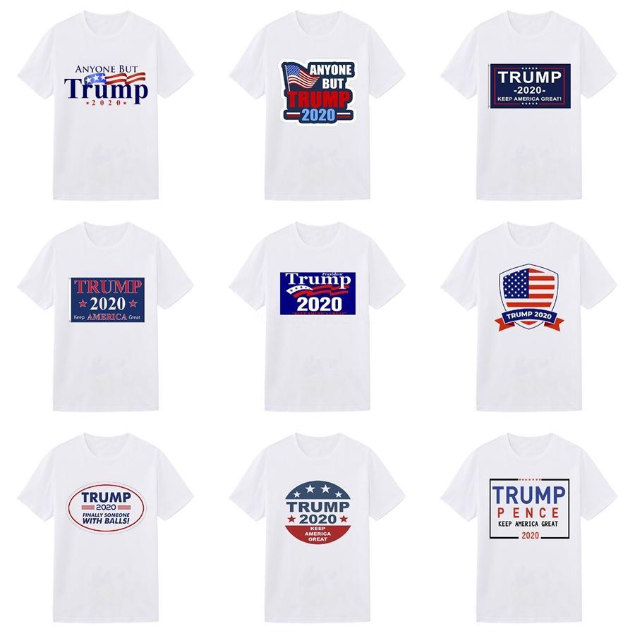 Vente chaude Méduse l'Europe Lettre américaine Imprimer Mens Trump T-shirts Homme élastique T-shirt de luxe Chemises à manches courtes Designer Homme Noir Vêtements