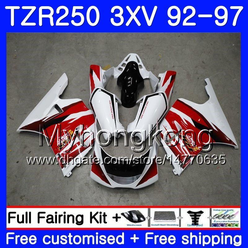 Kit Pour YAMAHA TZR 250 3XV YPVS TZR-250 92 93 94 95 96 97 97 245HM.0 TZR250RR RS TZR250 1992 1993 1995 1995 1996 1997 Carénage rouge