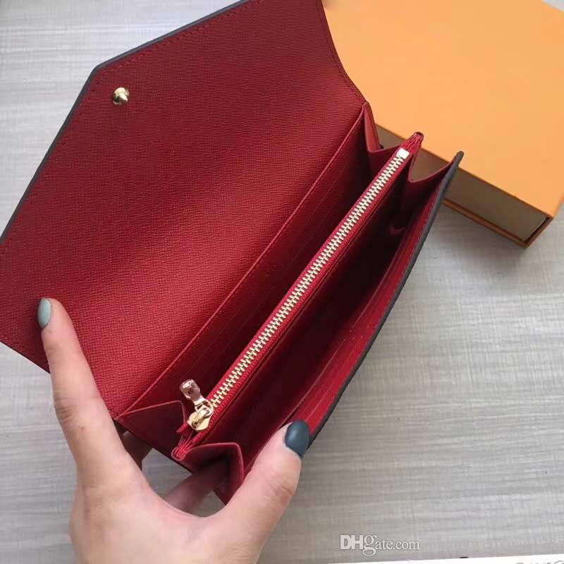 Portefeuille de carte de concepteur M60531 portefeuille porte-monnaie pour femme sac rouge sac de sac à glissière à fermeture à glissière de luxe Porte-monnaie Lady Bourse Marque Créateur Ketkq