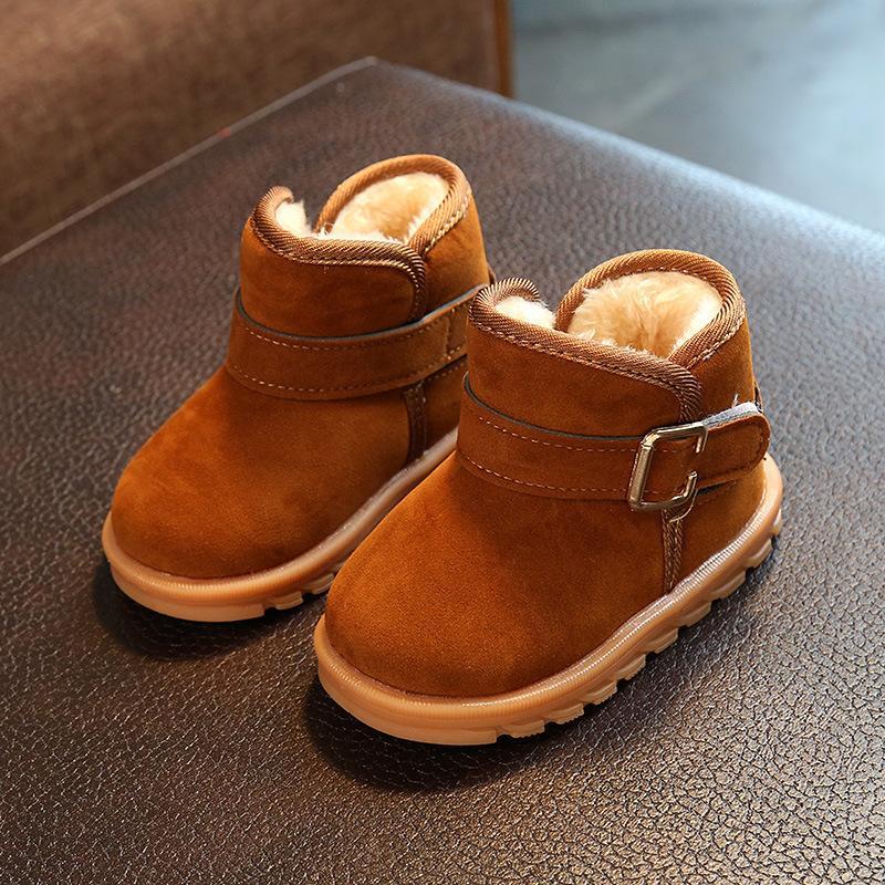 Winter Warm Children Boots Moccasins