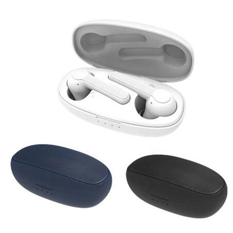 XY-7 TWS الأزرق الأسنان سماعات تسيطر تستدعم سيري سماعات لاسلكية سماعات سماعات ستيريو باس ايفي الصوت مع ميكروفون الرياضة سماعة