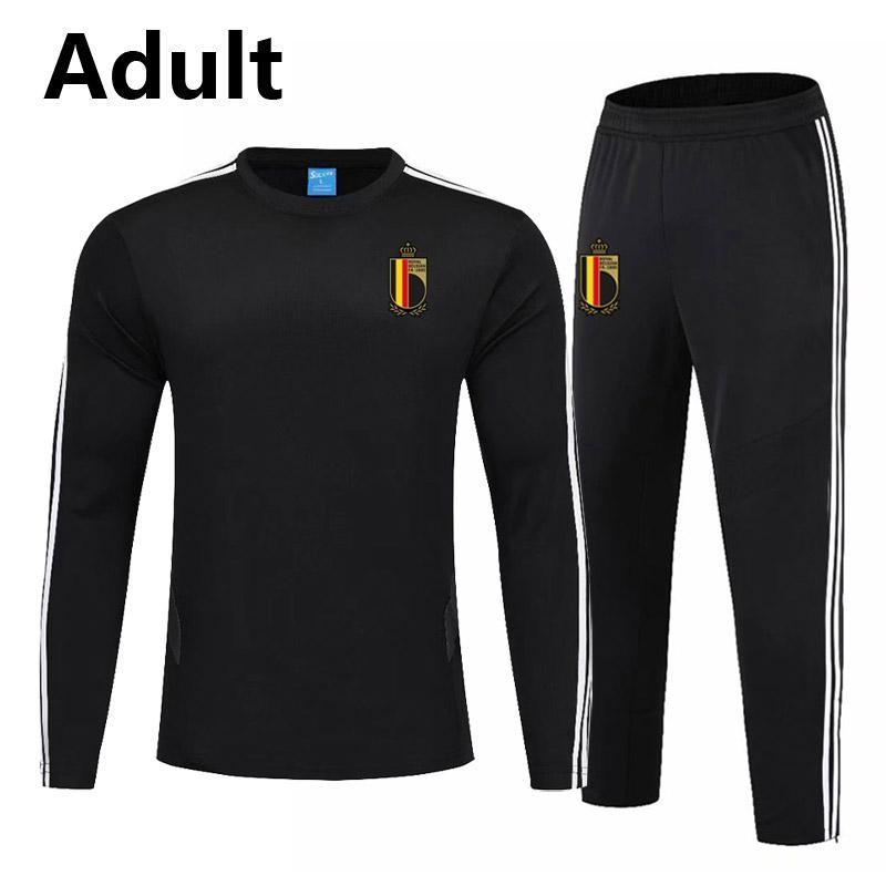 2020 Бельгия Мужчины футбол обучение футбол спортивный костюм спортивный костюм survetement де нога chandal бег трусцой футбольные тренировки Мужские костюмы