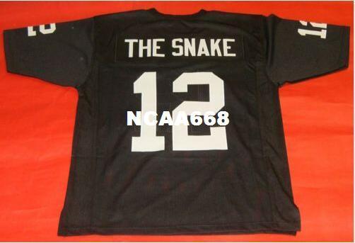 Hombres CUSTOM THE SNAKE RETRO College Jersey talla s-4XL o personaliza cualquier nombre o número de camiseta