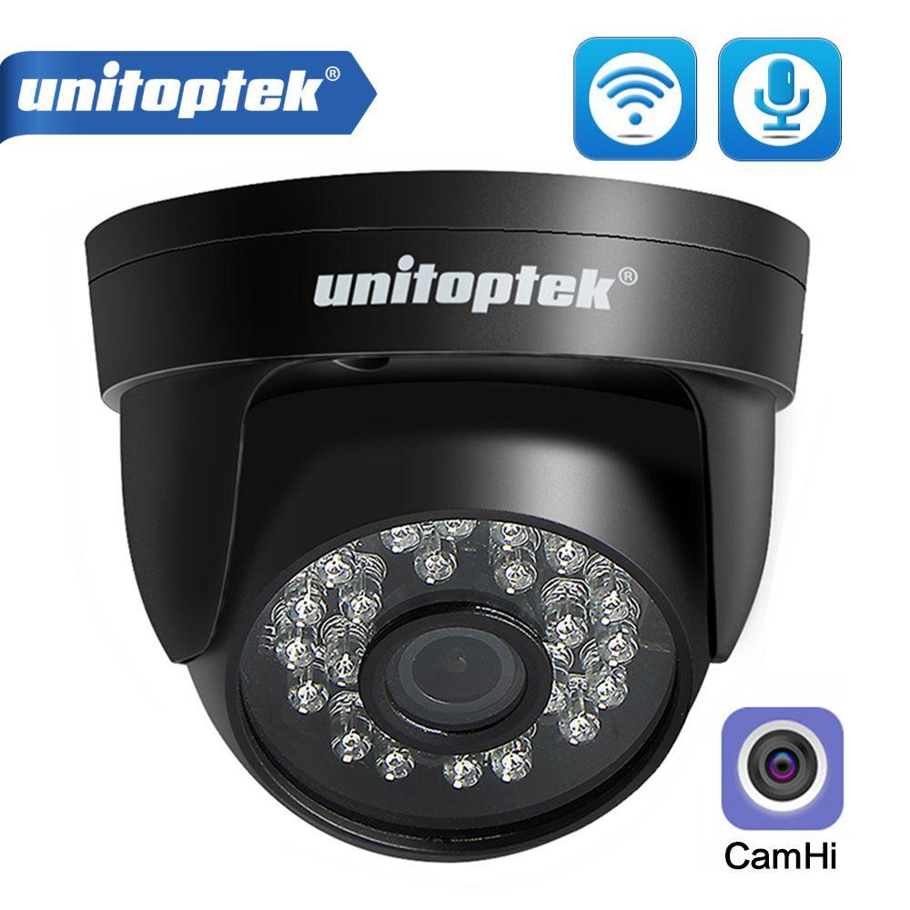 HD 1080P WiFi IP Caméra Audio Sans fil ONVIF CCTTV Sécurité Caméra Dôme IR 20M Night Vision TF Card Slot app camhi