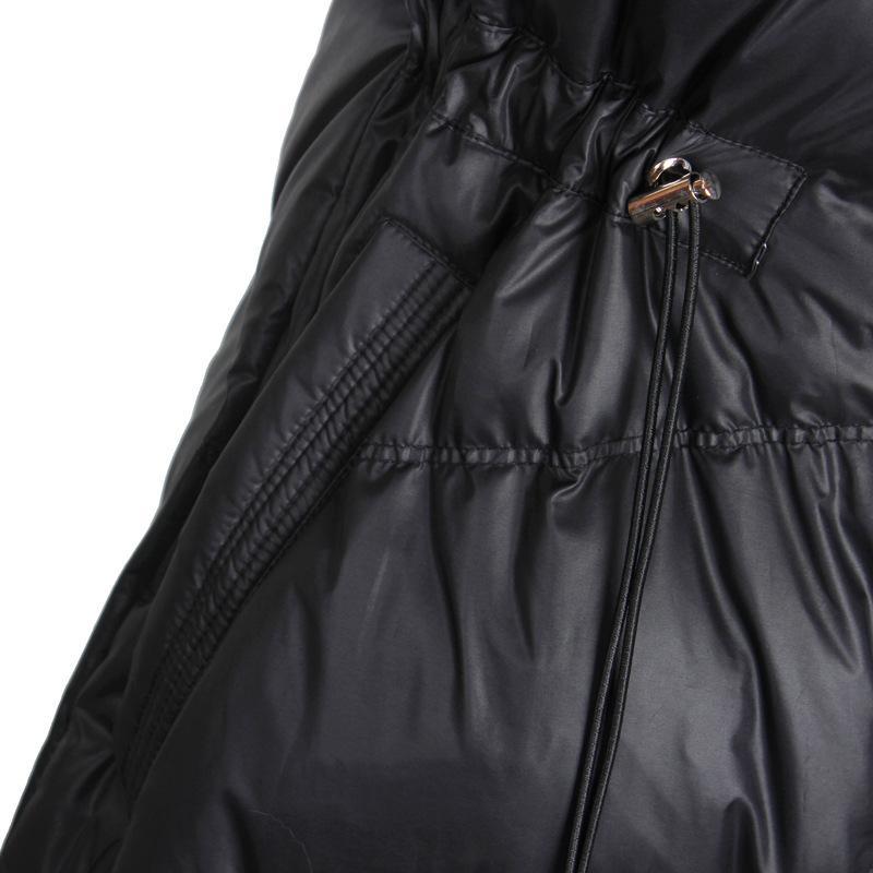 Damen Daunenjacke Fox-Pelz-Kragen-Winter-Mantel Weibliche Jacke Frauen Kleidung 2020 Korean Vintage-Parka weiße Ente unten Tops ZT3967
