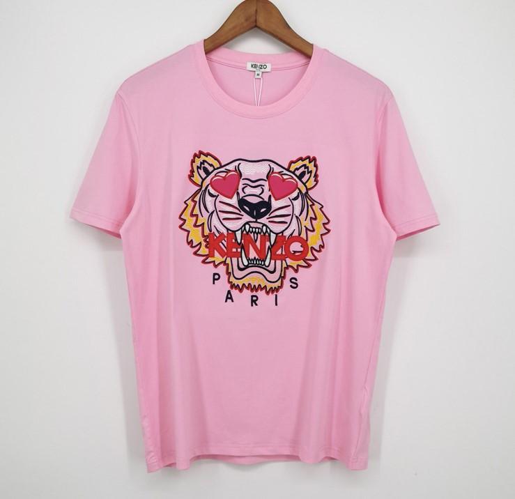 Neue Art und Weise Markemens-Designer-T-Shirts der Mädchen-T-Shirt mit kurzen Ärmeln Shirts Tiger Letters Frauen Sommer Tees Top-Qualität xcxz 2031801V