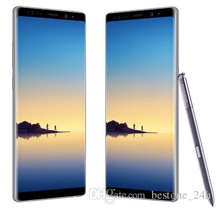 Original Samsung Galaxy Note 8 6 Go de RAM 64 Go de ROM 6.3 pouces Octa Core Dual Back Camera 12MP 3300mAh débloqué téléphone remis à neuf