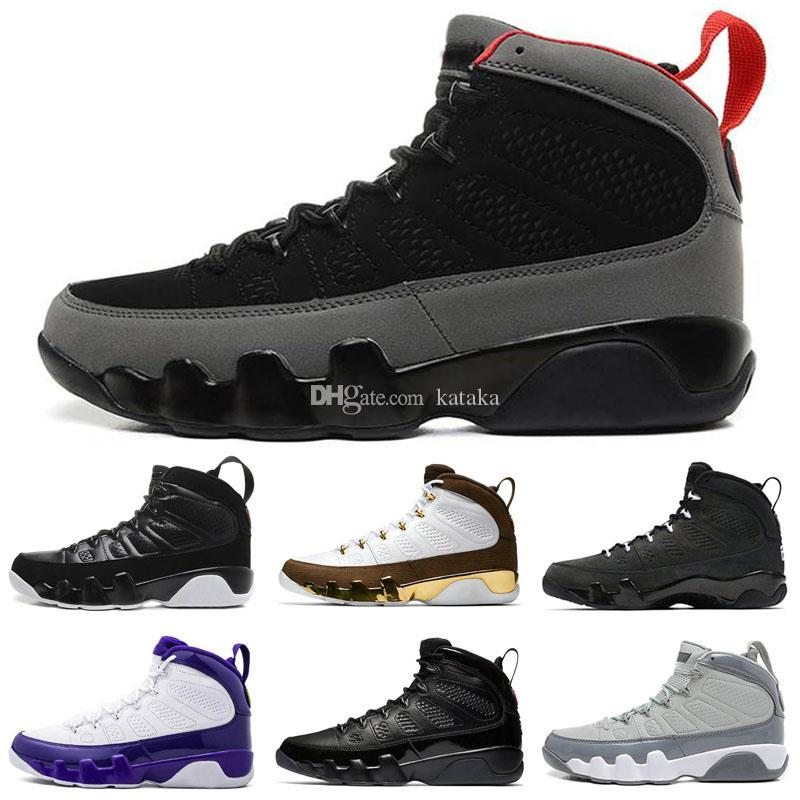 Jumpman 9 9s Mens ретро баскетбольной обуви Мечта Бред Антрацит хлорофилл Pure White Тинкер Desert Камо Уэстбрук Спортивные кроссовки