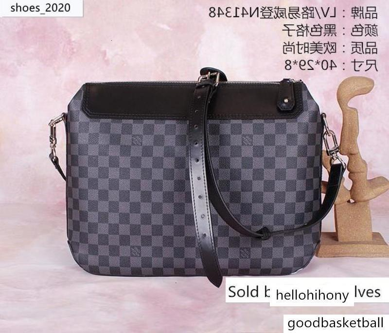 N41348 Classic Men Bag Briefcase Bags Hobo Handbags Top Handles Boston Cross Body Messenger Shoulder s