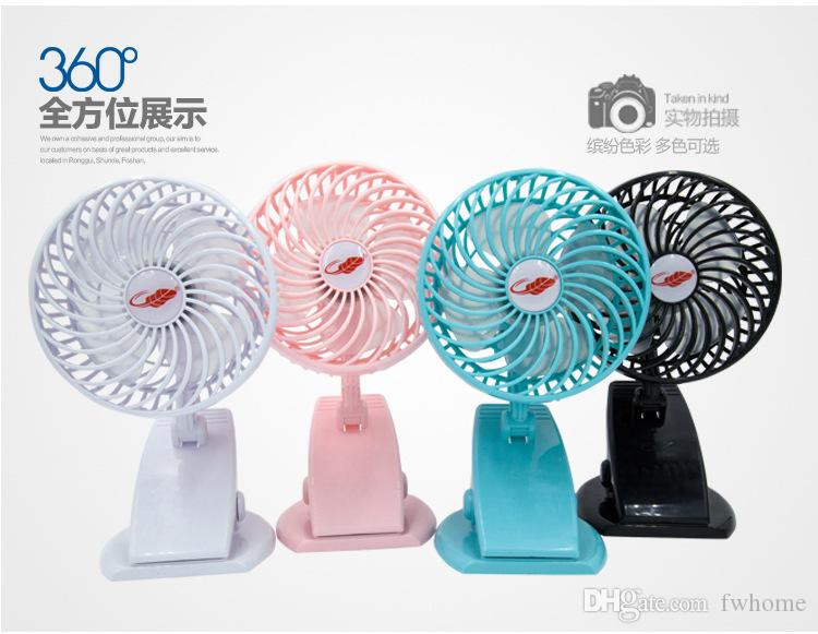 Portable Handheld Mini Fan Rechargeable Smart Clip Design Cooler Fan Mini Air Conditioner Fans For Home Office Outdoor Sports Work