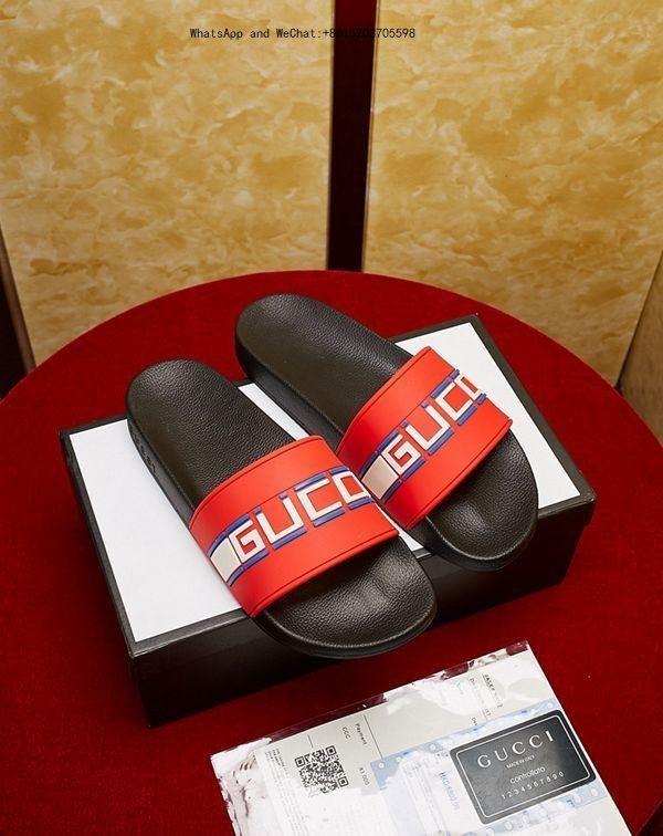 Vente en gros de nouvelles pantoufles sandales rouges Hydro Slides chaussures de basketball taille casual tongs pour hommes femmes pantoufles-hommes 0325