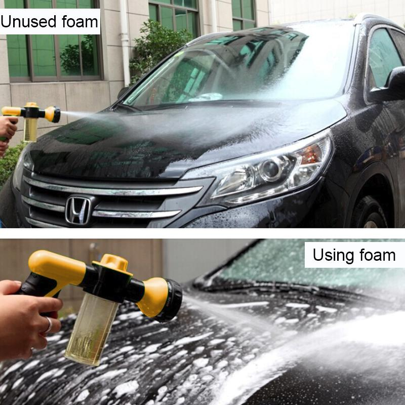 Limpieza del automóvil nieve Agua Espuma profesional de la pipa del agua del coche tubo de alta presión Lavadoras de coches Accesorios de lavado