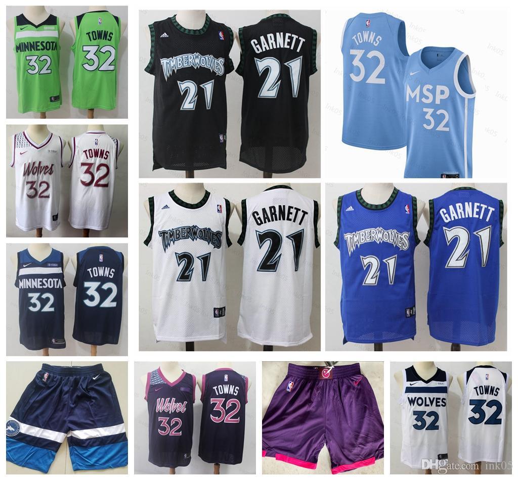 2019 Vintage Men Minnesota 13 Timberwolves Nba 13 Basketball