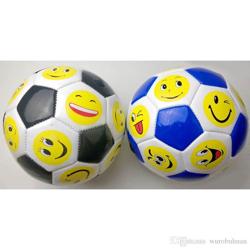 Grosshandel Mini Kids Fussball Netter Smiley Emoji Lustige Grosse 2 Fussball Spielzeug Von Wurobuhuan 5 03 Auf De Dhgate Com Dhgate