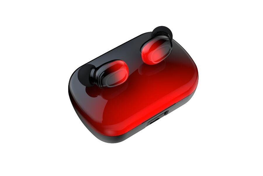 TWS Mini Kulaklık Kablosuz Kulaklık Spor müzik kulaklıkları Kutu #OU Şarj ile mikrofon 3D Stereo Ses Kulaklık ile 5.0 HiFi kulakiçi bluetooth