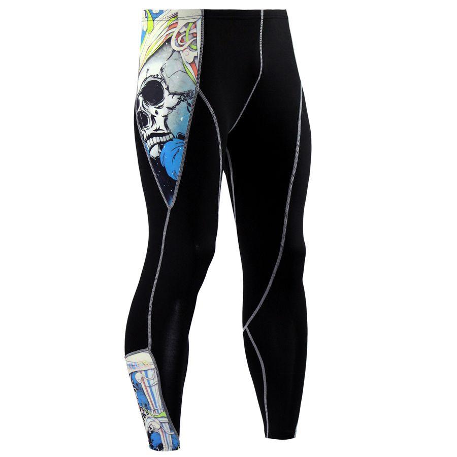 Wholesale New Brand Fitness Men Running Tights Gym Yoga Trousers Crossfit Jogger Sports Leggings Athleisure Sportswear Jog Elastic Pants